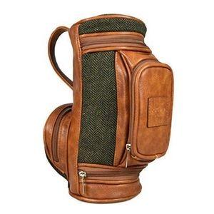 📌 NWT Portland Mens Tweed Mix Golf Wash Bag
